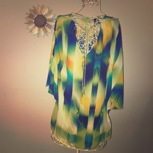 Dressy silk top from Marciano